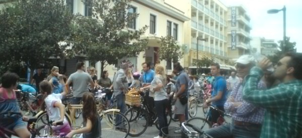 Ποδηλατάδα στα Τρίκαλα