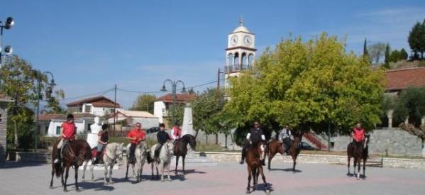 Μια βόλτα με τα άλογα