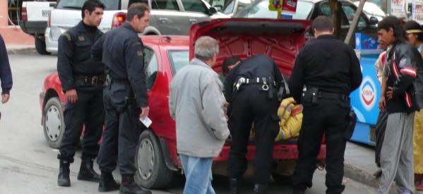Δεν σταματούν οι αστυνομικοί έλεγχοι στη Θεσσαλία