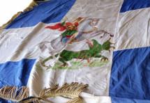 Ο Νίκος Λεοντάρης και η σημαία του 5ου ΣΠ Τρικάλων: Ιστορία ζωής και μάθημα πατριωτισμού