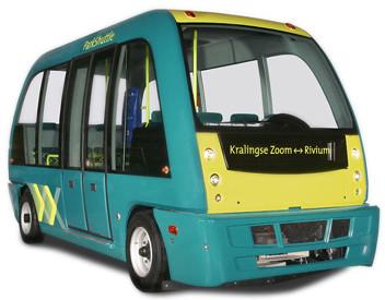 """Αύριο το """"λεωφορείο χωρίς οδηγό"""", με δοκιμή σε… σχεδόν κανονικές συνθήκες"""