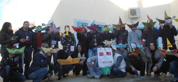Η ελευθερία και η Γάζα, με τα μάτια των μαθητών του ΣΔΕ Φυλακών Τρικάλων