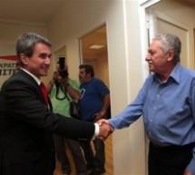 Κοινή ομιλία με Λοβέρδο ο Κουβέλης, πριν έρθει Τρίκαλα