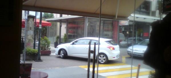 """Με ένα παράνομο παρκάρισμα, τρεις """"επιτυχίες"""""""