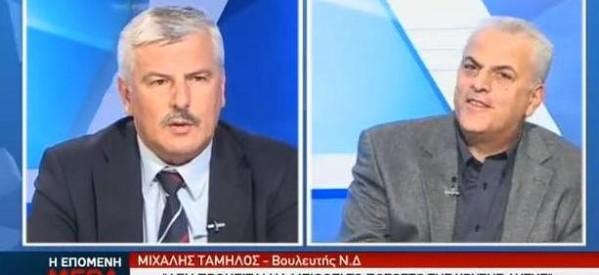 """Δήλωση Ταμήλου για τη ΧΑ """"βάζει φωτιά"""" – Εντονη αντίδραση ΣΥΡΙΖΑ"""