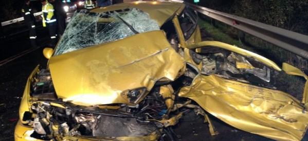 27 τροχαία και 4 νεκροί τον Οκτώβριο στη Θεσσαλία