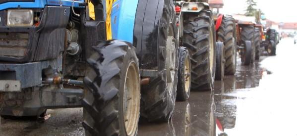 Συγκέντρωση των τρικαλινών αγροτών στη Λάρισα