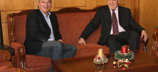 Εθιμοτυπικές επισκέψεις και ευχές από τον Ηλία Βλαχογιάνη