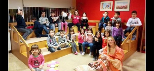 Χριστουγεννιάτικες Ιστορίες παρουσιάστηκαν στη Δημοτική Βιβλιοθήκη Τρικάλων