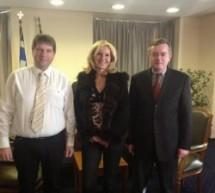 Συνάντηση των απόδημων Θεσσαλών με τον υφυπουργό Εξωτερικών