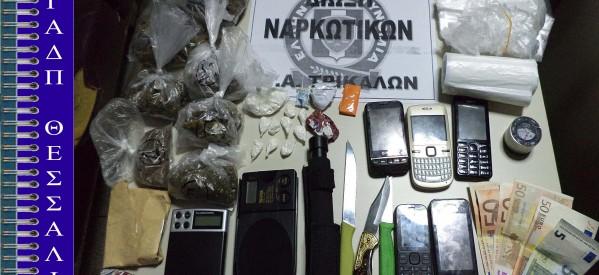 Επιτυχία κατά του εμπορίου ναρκωτικών στα Τρίκαλα
