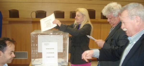 Ψηφίζουν από το πρωί οι τρικαλινοί δικηγόροι