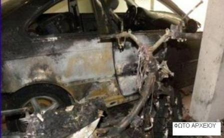Τραγικό: οδηγός απανθρακώθηκε στο αυτοκίνητό του κοντά στο Λιόπρασο