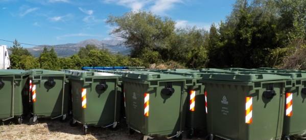 Ερχονται 500 κάδοι απορριμμάτων στη δυτ. Θεσσαλία