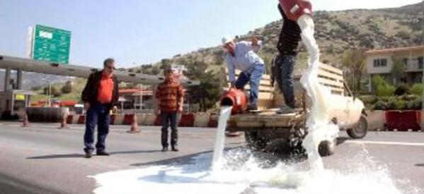 """Καταστροφή για το ελληνικό γάλα το νέο """"φρέσκο"""""""