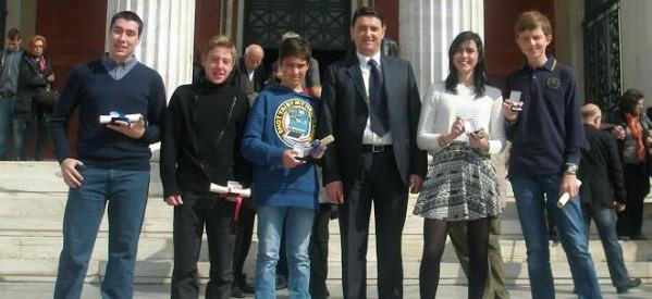 Συγχαρητήρια επιστολή Λάππα στους βραβευθέντες για τα Μαθηματικά