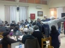 Με επιτυχία το γλέντι αλληλεγγύης του ΠΑΜΕ την Τσικνοπέμπτη