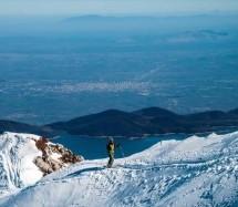 Οι τρικαλινοί που πάτησαν με τα σκι τα Αγραφα