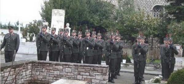 Ετήσιο Μνημόσυνο στα Στρατιωτικά Κοιμητήρια