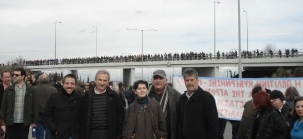 Οι βουλευτές Θεσσαλίας του ΣΥΡΙΖΑ στο μπλόκο της Νίκαιας