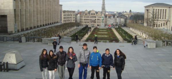 Στο Ευρωκοινοβούλιο οι μαθητές του Γυμνασίου Οξύνειας