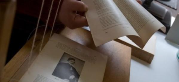 Από την Περδικορράχη οι πρωτοπόροι βιβλιοδέτες των Τρικάλων