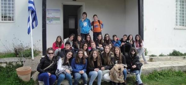 Περιβαλλοντικές Διαδρομές του 2ου Γυμνασίου Τρικάλων στο ΚΠΕ Φιλιατών Θεσπρωτίας