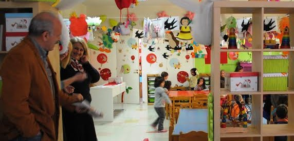 Επίσκεψη της  «Λαϊκής Συσπείρωσης» σε παιδικούς σταθμούς του Δήμου Τρικκαίων
