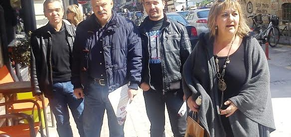 Περιοδεία Γ. Καΐκη σε εμπορικά καταστήματα του κέντρου των Τρικάλων