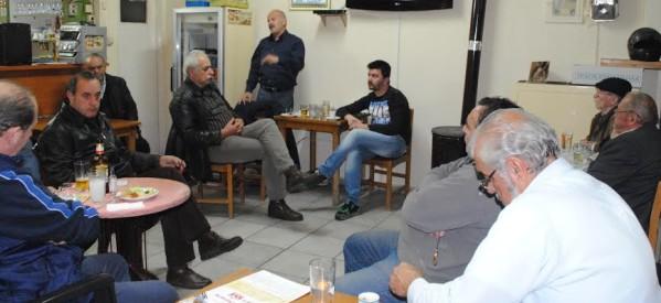 Συνεχίζει επαφές και συναντήσεις με κατάθεση άποψης ο Γ. Καΐκης