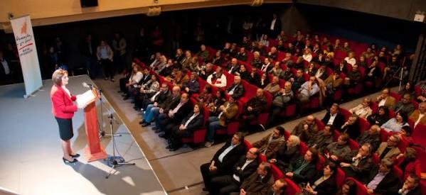Μ. Χρυσοβελώνη: Δεν υποσχόμαστε. Δεσμευόμαστε!