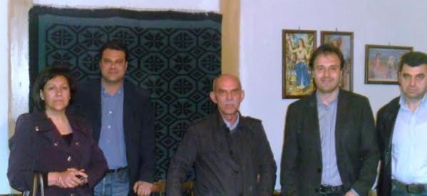 Συνάντηση Παπαστεργίου με τον Πολιτιστικό Σύλλογο Βαρουσίου