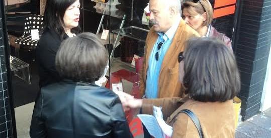 Περιοδεία Καΐκη στο κέντρο των Τρικάλων