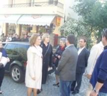 Συνεχείς οι επαφές της Μαρ. Χρυσοβελώνη στον νομό Τρικάλων
