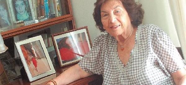 Στα Τρίκαλα η μεγάλη μας συγγραφέας Αλκη Ζέη
