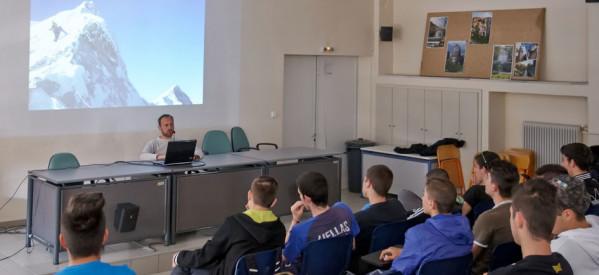 Παρουσίαση με θέμα την ορειβασία στο 1ο ΕΠΑΛ Τρικάλων