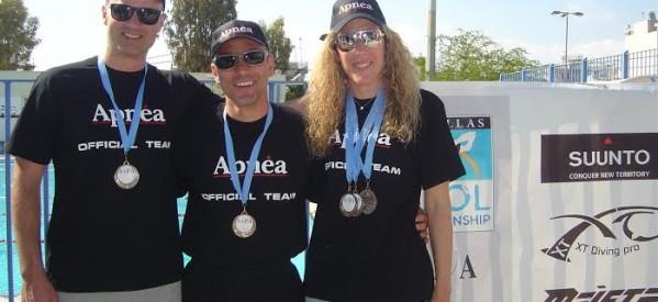 Μεγάλες Διακρίσεις για τα Τρίκαλα στο Πανελλήνιο Πρωτάθλημα Αγωνισμάτων Άπνοιας 2014