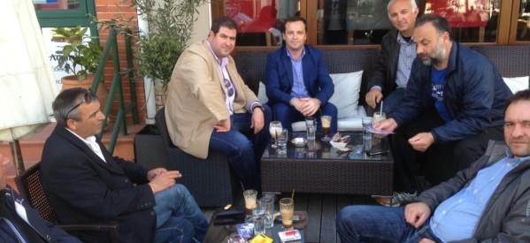 Με εκατοντάδες φίλους στην Ελασσόνα και στη Δεσκάτη o υποψήφιος ευρωβουλευτής Θανάσης Λιούτας