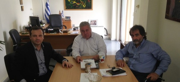Μπαράζ  επαφών του υποψηφίου ευρωβουλευτή της Ν.Δ. Θανάση Λιούτα