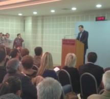 Σε πολιτική εκδήλωση στην Καρδίτσα μίλησε ο Θανάσης Λιούτας