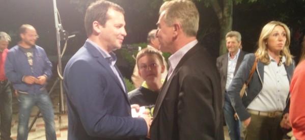 Η Νίκαια και ο Δήμος Κιλελέρ αγκάλιασαν τον υπ. ευρωβουλευτή της Ν.Δ. Θανάση Λιούτα
