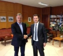 Υποψήφιο της ΝΔ υποδέχθηκε ο Μιχαλάκης