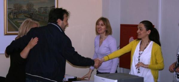 Τους υπαλλήλους του Δήμου που θα εργαστούν για τις εκλογές επισκέφτηκε ο Δημήτρης Παπαστεργίου