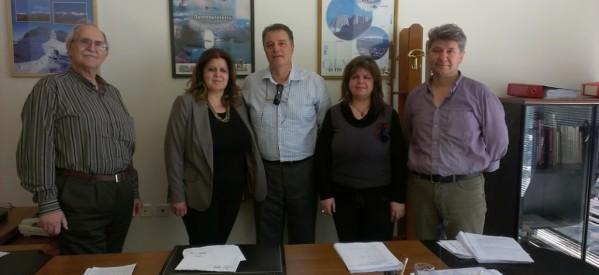 Επίσκεψη του Παναγιώτη Πάτρα υπ. ευρωβουλευτή της Ελιάς – Δημοκρατικής Παράταξης στην Ελασσόνα