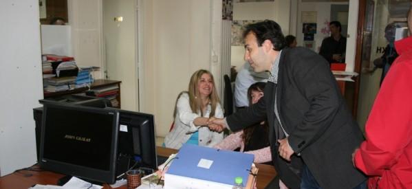 Συνεχείς … επισκέψεις Παπαστεργίου σε υπηρεσίες και επιχειρήσεις του Δήμου