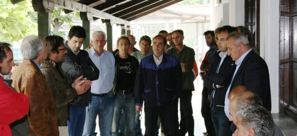 Μηνύματα στον Δ. Παπαστεργίου για νίκη της «επανεκκίνησης» δίνουν καθημερινά φορείς και δημότες