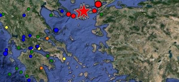 Σεισμός 6,3 Ρίχτερ στη Σαμοθράκη