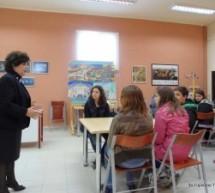 Η συγγραφέας Τούλα Τίγκα στο 3ο Γυμνάσιο Τρικάλων