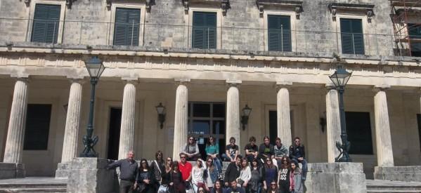 Εκπαιδευτική εκδρομή της β΄ λυκείου του μουσικού σχολειού Τρικάλων στην Κέρκυρα