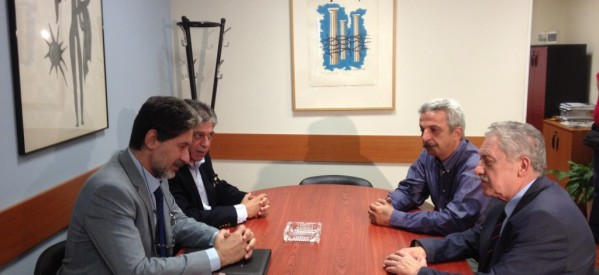 Συνάντηση Φώτη Κουβέλη με τον Πρέσβη της Παλαιστινιακής Αρχής στην Ελλάδα.